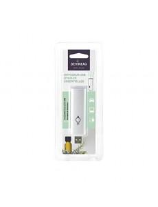 DEVINEAU Diffuseur d'huiles essentielles clé USB nomade - Blanc