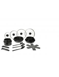 Sitram 713871 - Batterie 20 Pieces Amovible Aluminium Induction