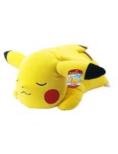 Peluche Pikachu qui dort 40 cm