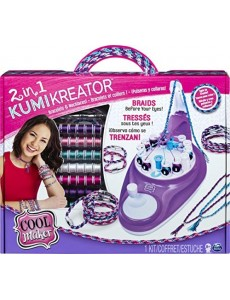 Cool Maker - 6053898 - Jouet enfant - Loisirs Créatifs - Kumi Kreator Deluxe