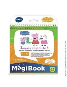 VTech Magibook-Peppa Pig, 480405 - Version FR