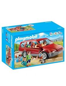 Playmobil - Famille avec Voiture - 9421