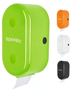Spirella Porte-Rouleau de Papier Toilette + Porte-Rouleau de Papier Toilette Cube à Coller ou à percer Vert